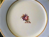 English Armorial Crest Cornucopia Plate 1815