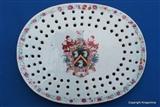 Chinese Armorial Porcelain Plate Drainer SKINNER
