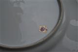 Pair Dresden Armorial Crest HAMILTON Family Plates