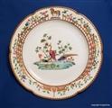English Armorial Crest Plate Horse Circa 1840