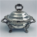 Heavy Quality Old Sheffield Plated Sauce Tureen and Lid c. 1815