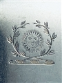 Antique George IV Newcastle Hallmarked Sterling Silver Fiddle pattern Table Fork 1826