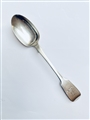 Antique Victorian Irish Hallmarked Fiddle Pattern Teaspoon 1850