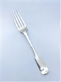 Antique William IV Irish Hallmarked Sterling Silver Fiddle pattern Table Fork 1830