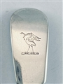 Antique Georgian Sterling Silver Hallmarked Fiddle Pattern Tablespoon London 1824