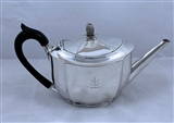 Antique Silver George III Teapot made in 1800
