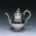 Antique Sterling Silver Coffee Pot made in 1834