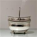 Early 19th Century Antique George III Sterling Silver Double Tea Caddy London 1808 Rebecca Emes & Edward Barnard