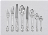 ONE DATE & MAKER, HAND-FORGED LILY SILVER CUTLERY