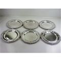 6 Paul Storr Dinner Plates, 1815